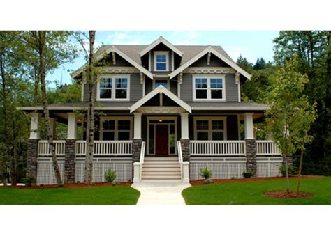New House Plans With Wrap Around Porches by Craftsman House Plans With Wrap Around Porch Awesome
