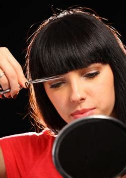 cut your own hair with clippers women how to cut your hair at home