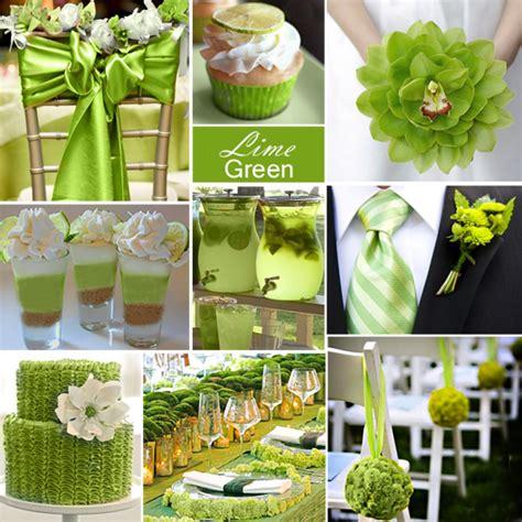 lime green weddings on purple wedding