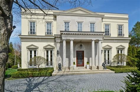 Neoclassical Home 3 983 Million Neoclassical Home In Winnetka Il Homes Of The Rich