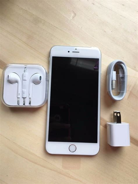 new apple iphone 6 plus 64gb silver at t factory unlocked any gsm ebay