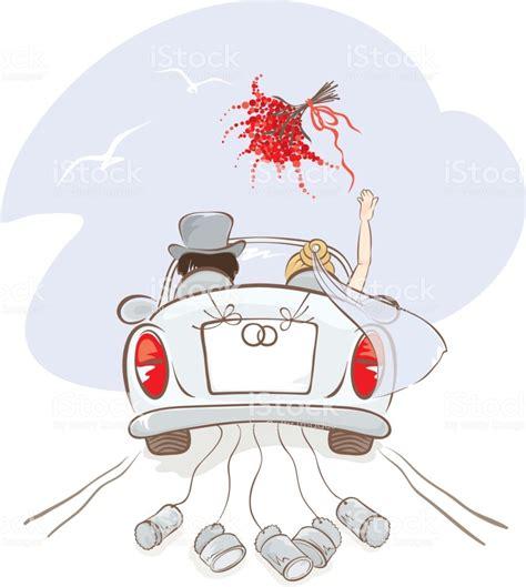 Just Married Auto Zeichnung Zum Ausdrucken by Hochzeit Auto Stock Vektor Art Und Mehr Bilder Von Auto