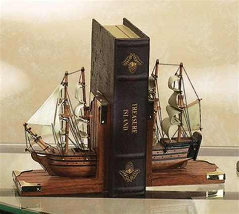 ship decor home nautical bookends nautical gifts and from gonautical com