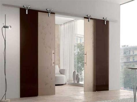 idee per decorare porte interne porta interna scorrevole in vetro with colori per