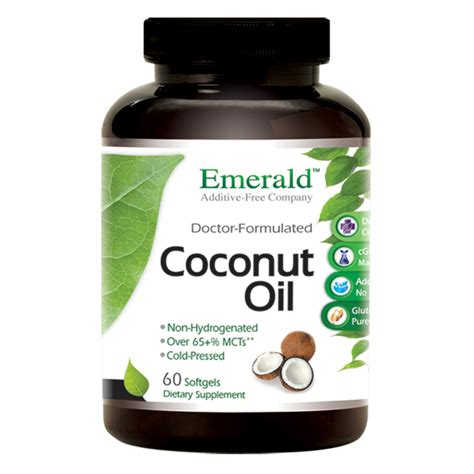 Does Coconut For Detox Magnesium Stearate by Coconut Softgels Emerald Supplements