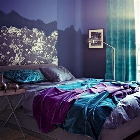 purple and blue bedroom ideas vibrant purple and blue teen room room ideas pinterest