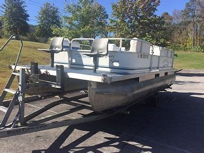 trailer for 20 foot boat 20 foot pontoon boat boats for sale