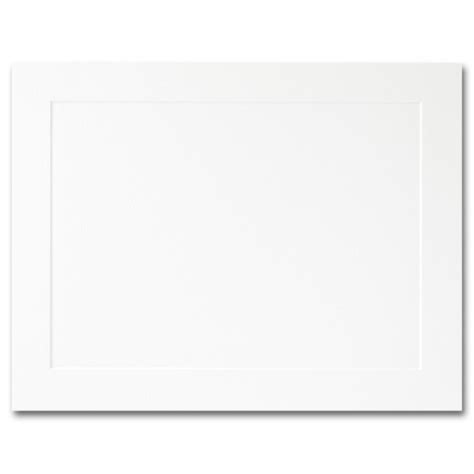 a2 flat card template impressions hi white flat panel cards a2 4 1 4 x 5