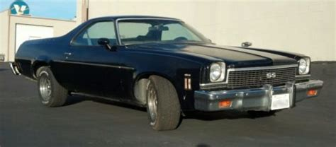 buy   chevrolet el camino factory ss   automatic transmission  grand terrace