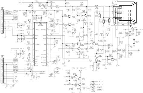 monitor circuit diagram hp d2825 acer 7254 crt monitor circuit diagram