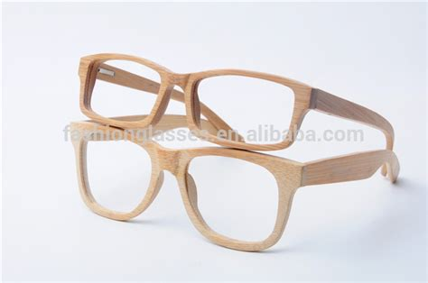 bamboo optical frame for prescription glasses
