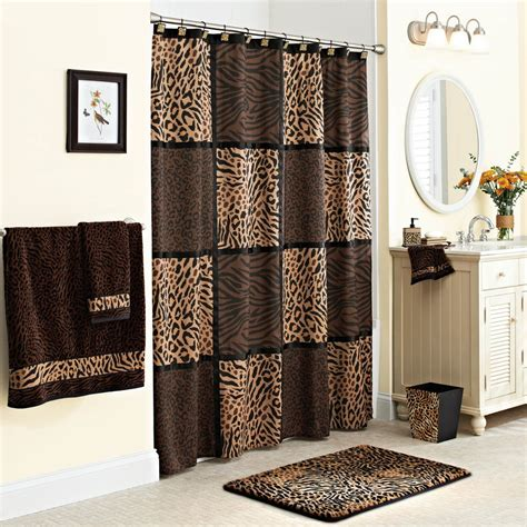 washable curtains 100 polyester fabric shower curtains animal printing home