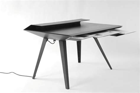 minimalist work desk desk 117 a minimalist work desk with smart cable management