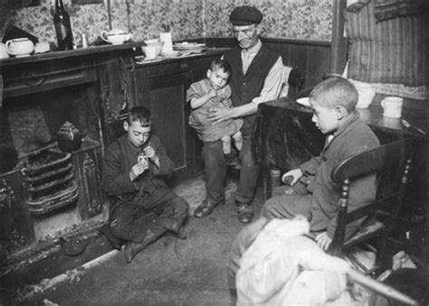 a grandfather caring for children at home 20th century at