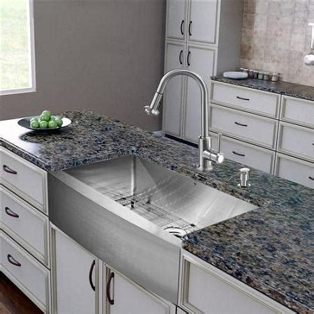 vigo stainless steel farmhouse sink stainless steel kitchen sinks more than just a budget