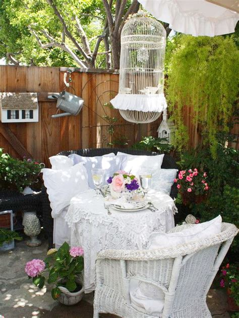 diy outdoor shabby chic top easy backyard garden decor 16 shabby chic garden designs with interior furniture