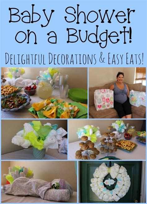 Simple Foods For Baby Shower by 17 Best Ideas About Budget Baby Shower On Baby