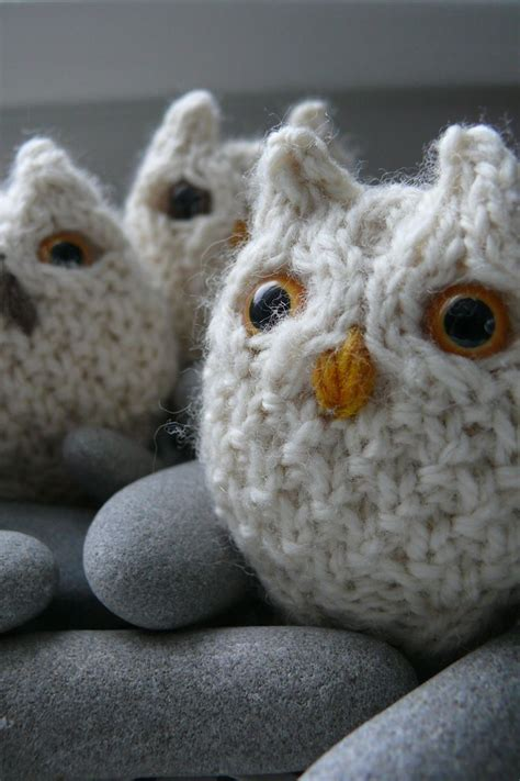 how to knit a owl 951 best knitting toys images on knitting toys