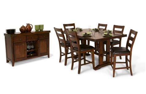 Pub Dining Room Sets Pub Dining Room Collection Bob S Discount Furniture Regarding Breathtaking Bobs