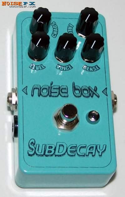 The Detox Box Micro Frequency Generator by Noisefx Subdecay Noise Box
