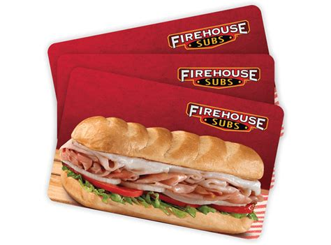 Firehouse Subs Gift Card Balance - firehouse subs chips drinks chili desserts firehouse subs