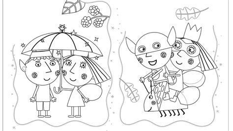 princess holly coloring page 89 princess holly coloring pages ben and hollys