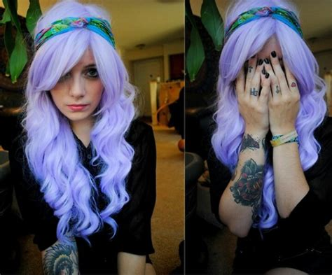 periwinkle hair style image spring summer color inspiration lavender periwinkle