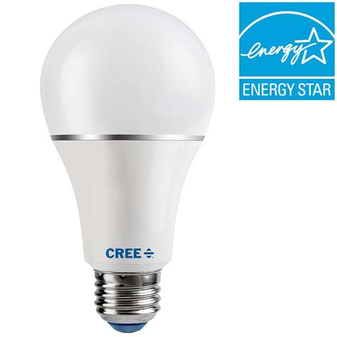 cree led light bulbs cree 100w equivalent soft white 2700k a21 dimmable led light bulb sa21 16027mdfd 12de26 1 11