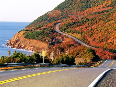 in fall the best fall foliage drives in new and canada