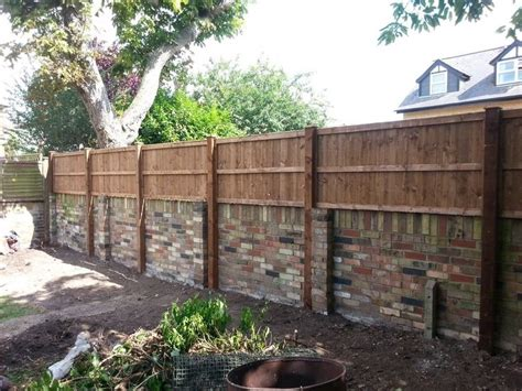 image result for fence panel above wall garden