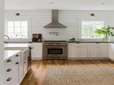 shiplap kitchen with backsplash ideas