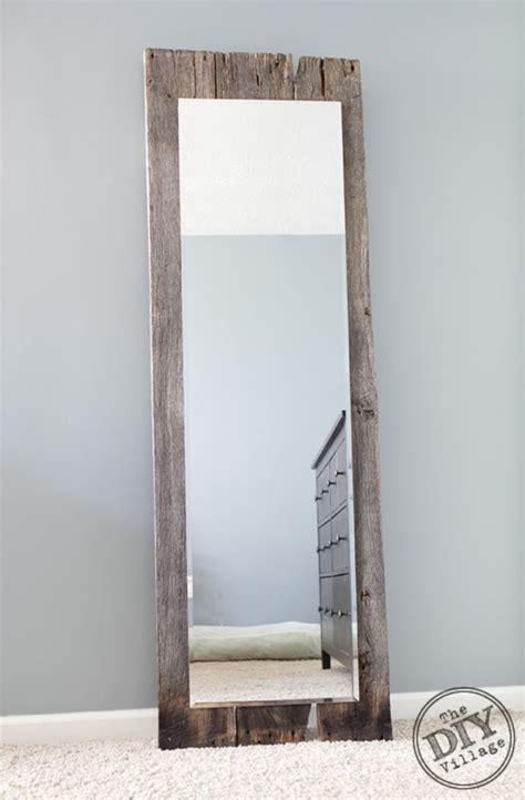 reclaimed wood mirror diy reclaimed wood floor mirror carpet vidalondon