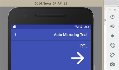 layout doesn t work android auto mirroring for rtl layout doesn t work in android
