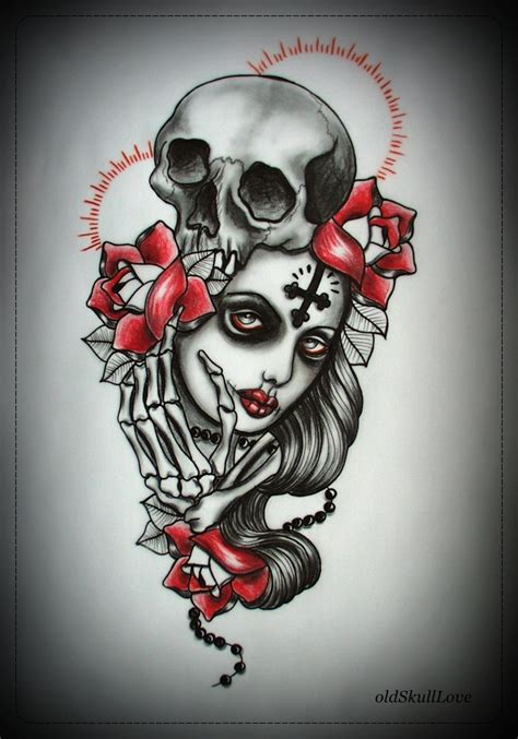 tattoo design art muerte tattoo design by mweiss art on deviantart