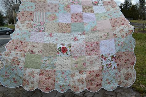 shabby chic quilts shabby vintage chic size