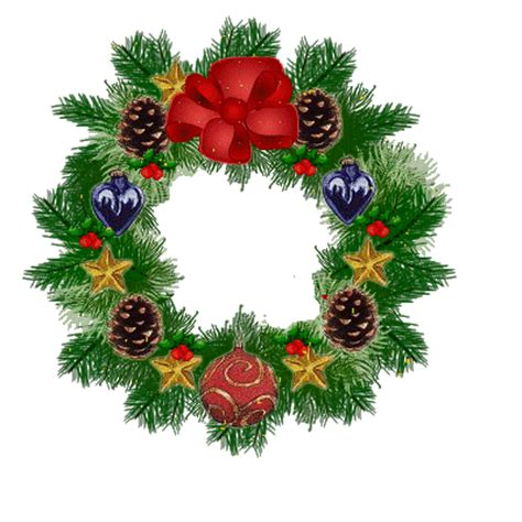 funny animated christmas wreaths garland blinking lights gif wreath garland animated gif wreath happy