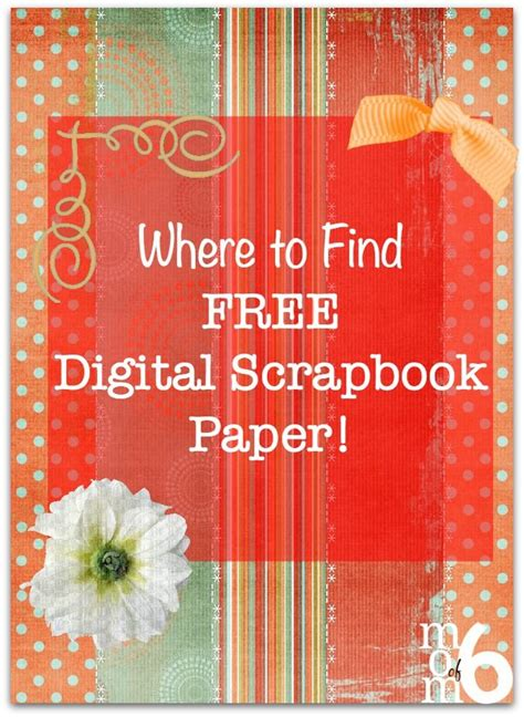 Where To Buy Essays by Where To Find Free Digital Scrapbook Paper Digital Scrapbooking Series Momof6