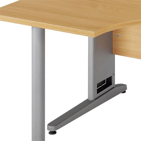 office desk with cable management elegance ergonomic desk with cable management