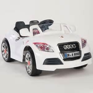 ride on car 12v audi style power wheels w mp3 remote