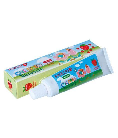 Pigeon Toothpaste Strawberry 45 Gr pigeon toothpaste strawberry 45g buy pigeon toothpaste