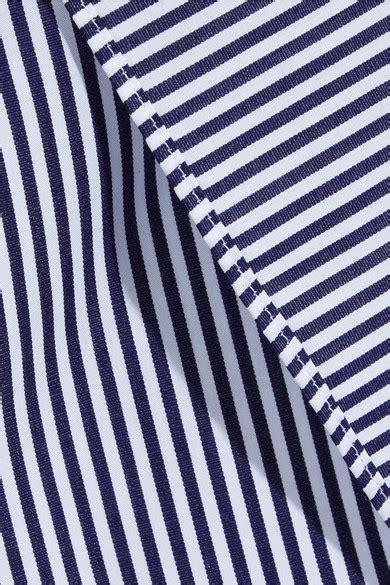 vetements comme des garcons oversized cotton poplin shirt vetements comme des gar 231 ons packshot oversized striped