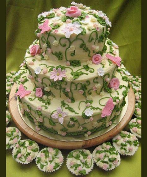 Flower Garden Cake Ideas 41 Sweet Wedding Cake Ideas