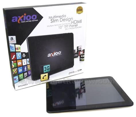 Tablet Axioo 10 Inch 3g review axioo picopad 10 3g tablet android 3g 10 murah
