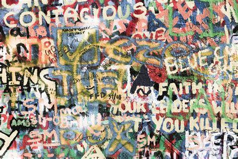 Graffiti Wall Background Free Stock Photo   Public Domain