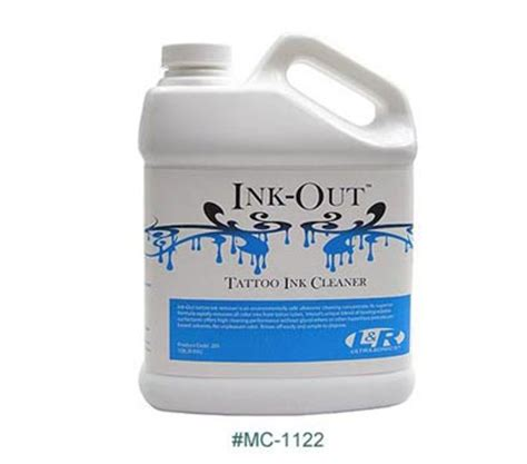 tattoo equipment cleaning solution ink out tattoo ink cleaner concentrate