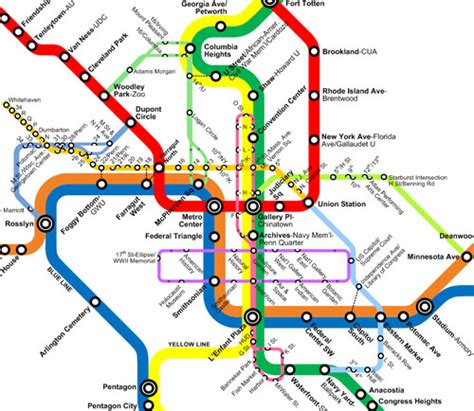 washington dc metro map union station the new circulators and the metro map greater greater