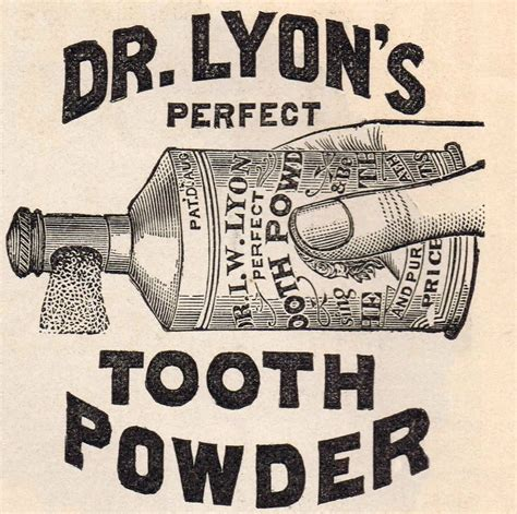 Bathroom Makeovers Ideas Antique Graphics Advertisement Dr Lyon S Tooth Powder