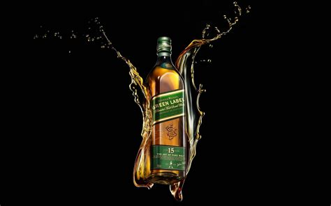alcoholic drinks wallpaper free download green label whisky alcohol drink hd