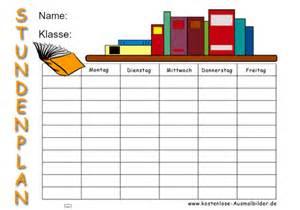 Kostenlose Vorlage Stundenplan Stundenplan Buecher Schule Ausmalen Malvorlagen Stundenplan