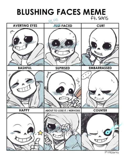 Meme Expression Faces - sans undertale i love thee facial expressions i need